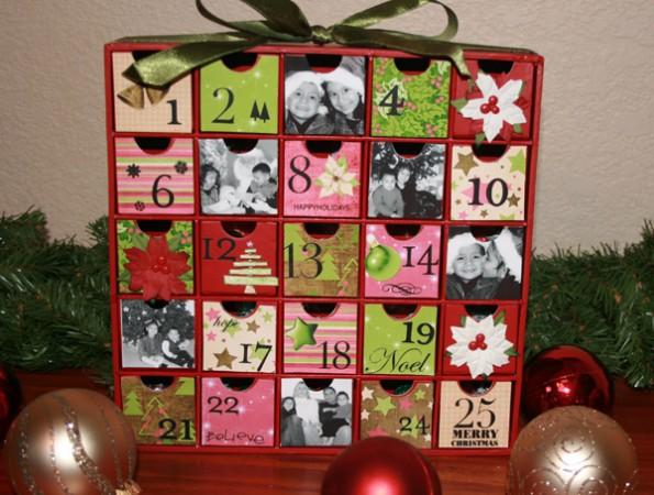 calendari dell'avvento - lavoretti natale 2011