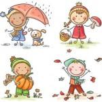 Scuola dell'infanzia autunno