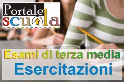 Esame di terza media: esercitazioni di italiano e matematica