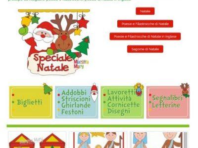 Speciale Natale della maestra Mary: lavoretti, biglietti, addobbi, ghirlande, calendario dell'avvento, sagome, segnalibri …
