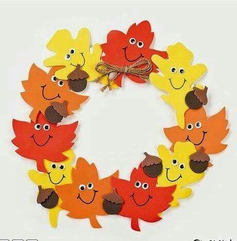 ghirlanda autunno