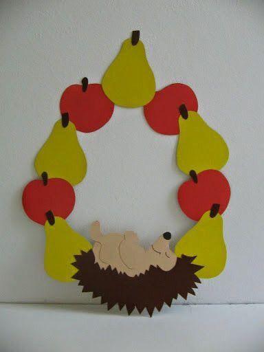 decorazione autunno scuola infanzia