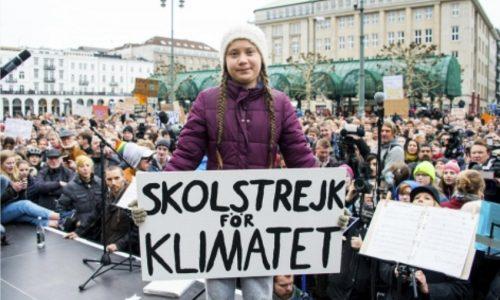 Al Miur un banner contro i cambiamenti climatici