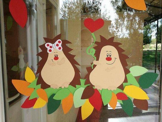 decorazioni ricci autunno