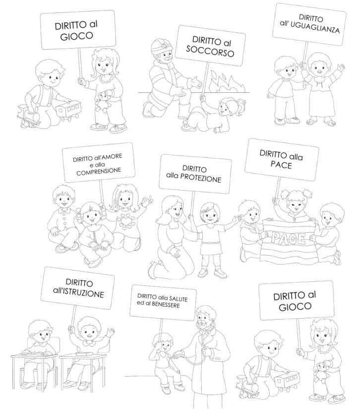 I diritti dei bambini for Maestra gemma diritti dei bambini