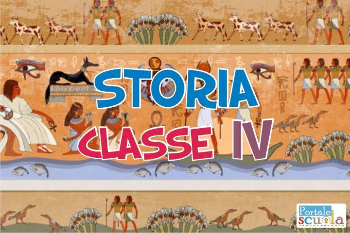 Storia Classe 4