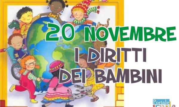 I diritti dei bambini –  20 novembre