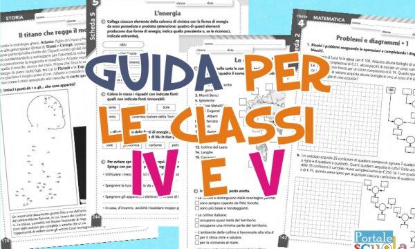 Guida di scuola Primaria con schede per la classe 4^ e 5^