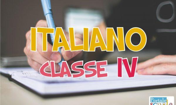 Italiano classe 4^
