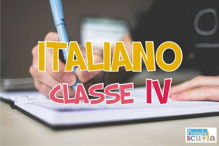 italiano classe 4