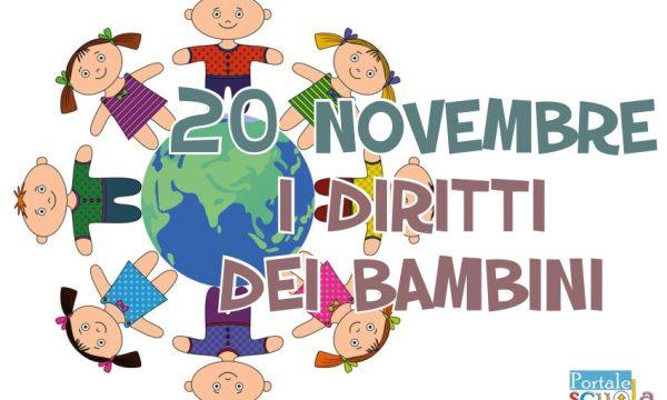 20 novembre Festa dei diritti dei bambini