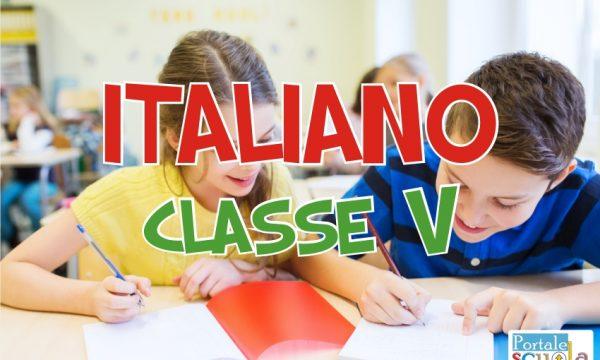 Italiano classe 5^