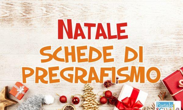 Natale: Schede di Pregrafismo