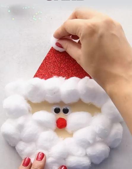 Lavoretti Di Natale Con Babbo Natale.Lavoretti Di Natale
