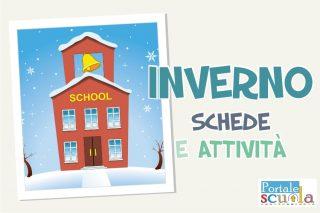 inverno schede attività decorazioni scuola