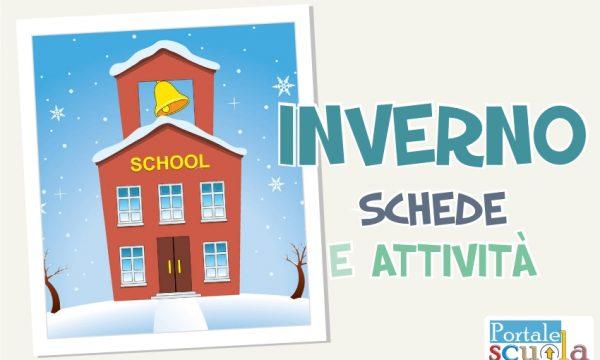 Inverno: materiale e attività per la scuola dell'Infanzia e la scuola Primaria