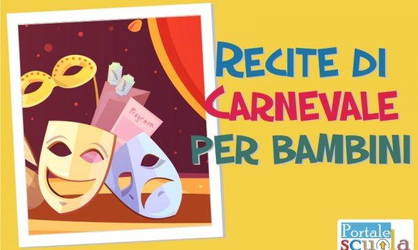 Recite di Carnevale per la scuola Primaria e dell'Infanzia