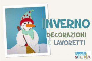 inverno decorazioni e lavoretti