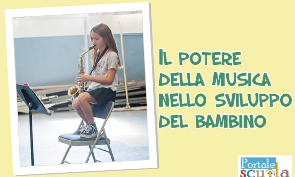 Il potere della musica nello sviluppo del bambino